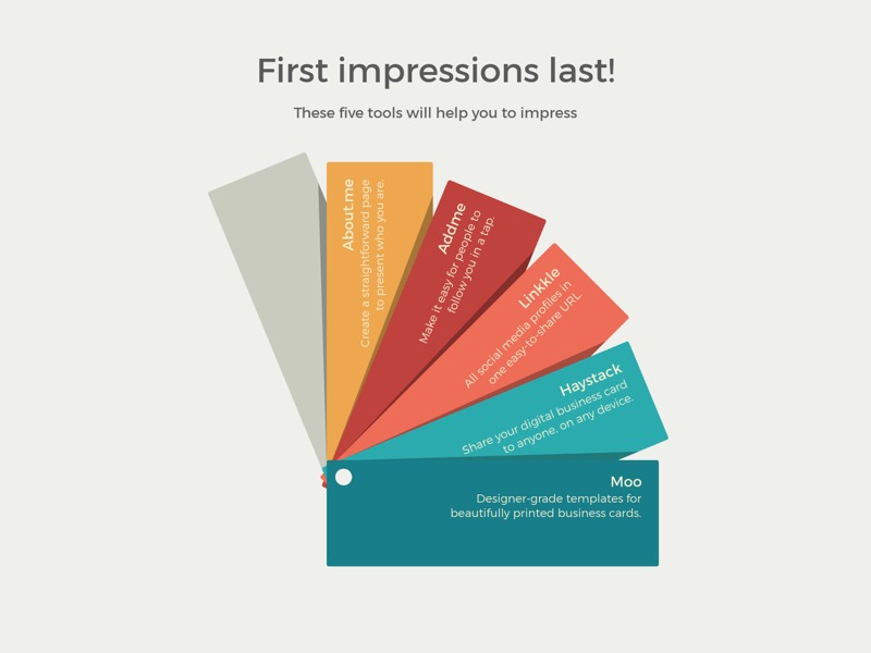 Color Fan example: First impressions last!