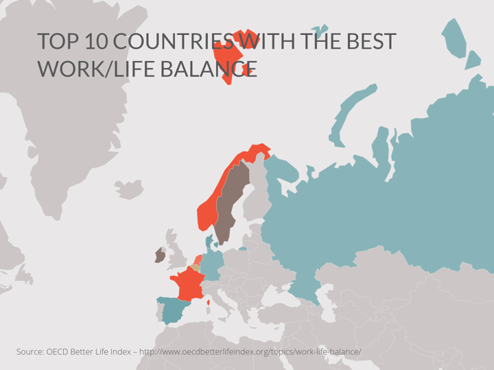 TOP 10 COUNTRIES WITH THE BEST WORK/LIFE BALANCE (World Map example Zoomable World Map Countries on map of middle east countries, printable blank world map countries, world map showing all countries, map of all the countries, world map with countries,