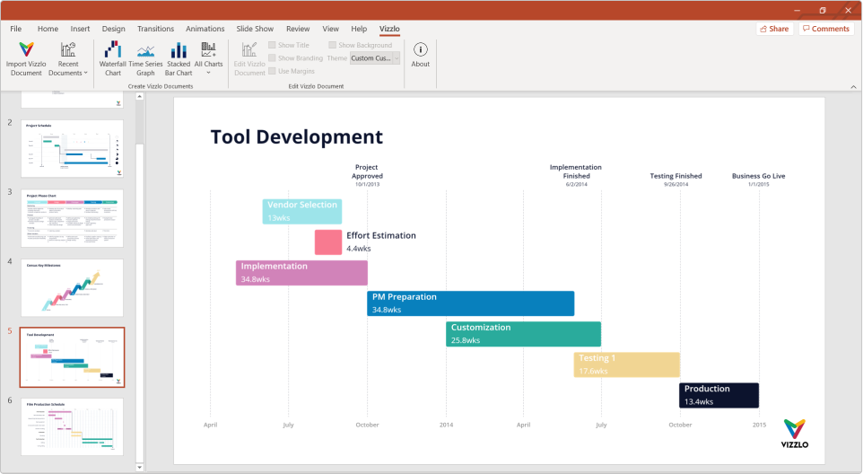 Learn how to create timelines with PowerPoint